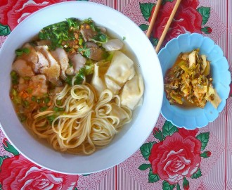 Chinese Wantan noodle