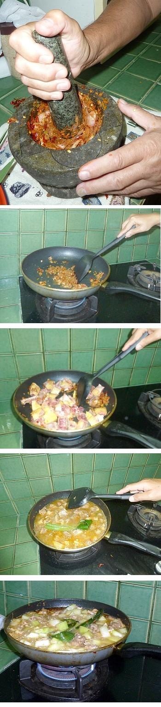 kaeng fak khio - Curry mit Wintermelone und Hühnchen